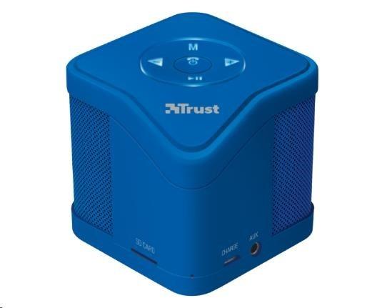 TRUST Muzo Wireless Bluetooth Speaker - blue