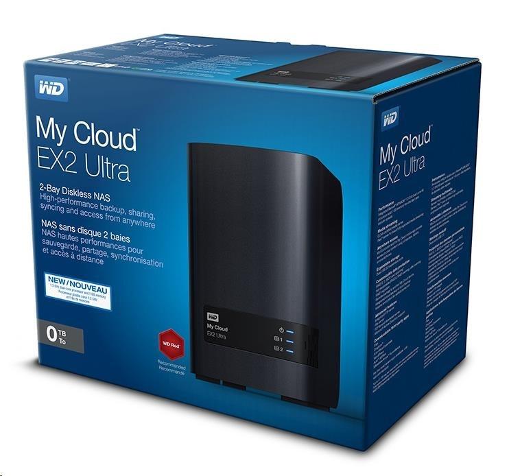"WD My CLOUD EX 2 ULTRA, bez HDD 3,5"", RJ45, NAS"