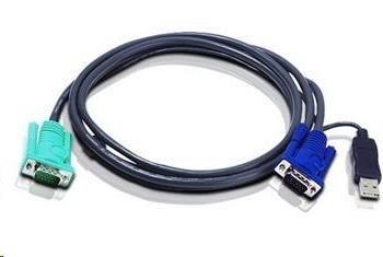 ATEN KVM sdružený kabel k CS-1708,1716, USB, 2m