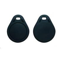 Elatec RFID Unique čip, přívěsek na klíče, 125 kHz, černý, Standard  Temic/ISO11784/785