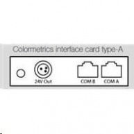Colormetrics interface card, type-A