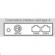 Colormetrics interface card, type-A