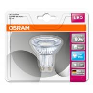 OSRAM LED STAR PAR16 120° 6,9W 840 GU10 575lm 4000K (CRI 80) 15000h A+ (Blistr 1ks)