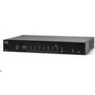 Cisco RV260 VPN firewall router, 8x GbE LAN, 1x RJ45/SFP GbE WAN - REFRESH