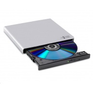 HITACHI LG - externí mechanika DVD-W/CD-RW/DVD±R/±RW/RAM GP57ES40, Slim, Silver, box+SW