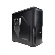 ZALMAN Z3 Plus - skříň miditower mATX/ATX, průhledný bok, bez zdroje, USB3.0, černá