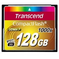 TRANSCEND Compact Flash 128GB Ultimate (1000x)