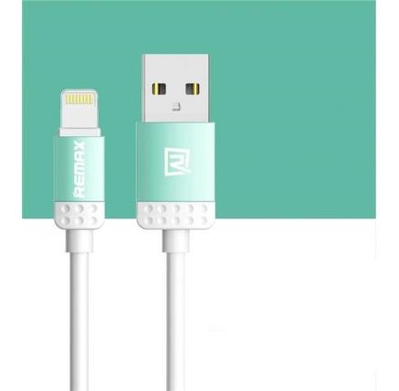 REMAX datový kabel 1m dlouhý , řada Lovely,  micro USB , barva modrá