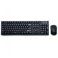 ZALMAN ZM-KM870RF - set klávesnice a myš bezdrátové, black, ENG