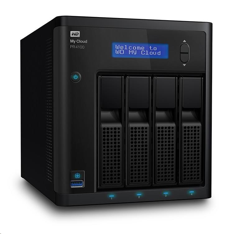 """WD My CLOUD PR 4100, 16 TB (4x4TB) 3,5"""", RJ45, NAS"""