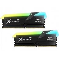 DIMM DDR4 16GB 4000MHz, CL18, (KIT 2x8GB), TEAM T-FORCE XCalibur RGB (Black)