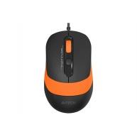 A4tech FM10 FSTYLER, optická myš, USB, oranžová