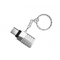 Viking redukce USB-C 3.0 to USB-A 3.1, stříbrná