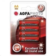 AgfaPhoto zinková baterie AA, blistr 4ks
