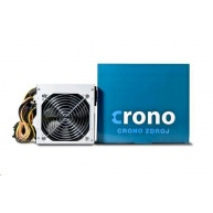 CRONO zdroj 400W 85+, 12cm fan, Active PFC, Gen.2