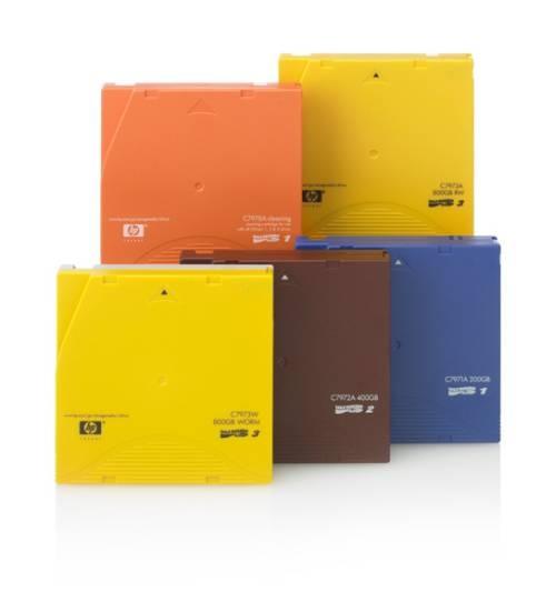 HP LTO-6 Ultrium 6.25TB MP RFID RW Custom Labeled Data Cartridge 20 Pack