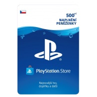 SONY PlayStation Live Cards Hang 500,- CZK
