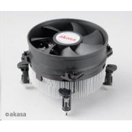 AKASA chladič CPU AK-CCE-7104EP pro Intel  LGA 775 a 1156, 92mm PWM ventilátor, do 95W