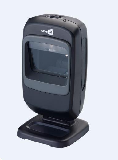 CipherLab 2220 Všesměrová pokladní čtečka čárových, 2D a QR kódů, UHF RFID, USB