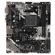 ASRock MB Sc AM4 A320M-DVS R4.0, AMD Promontory A320, 2xDDR4, DVI-D, D-Sub