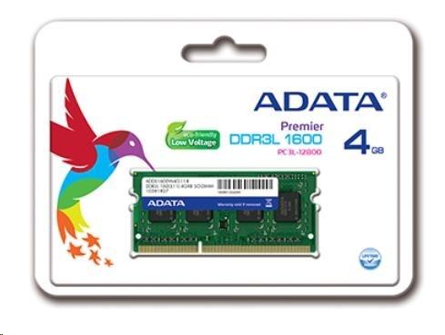 SODIMM DDR3L 4GB 1600MHz CL11 ADATA