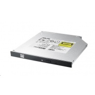 ASUS Slim DVD Writer SDRW-08U1MT/SLIM/BLACK/BULK, black, SATA, M-Disc, bulk  (bez SW)