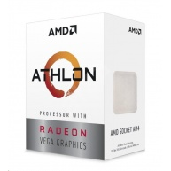 CPU AMD Athlon 200GE (Raven Ridge), 2-core, 3.2GHz, 5MB cache, 35W, socket AM4, VGA RX Vega, BOX