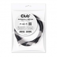 Club3D Kabel mini DisplayPort 1.2 4K60Hz UHD HBR2 (M/M), 2m