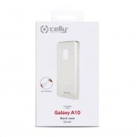 Celly zadní kryt Gelskin pro Samsung Galaxy A10, transparentní