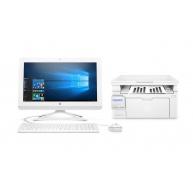 PC HP 20-c406nc AiO + HP LaserJet Pro MFP M130nw + První spuštění