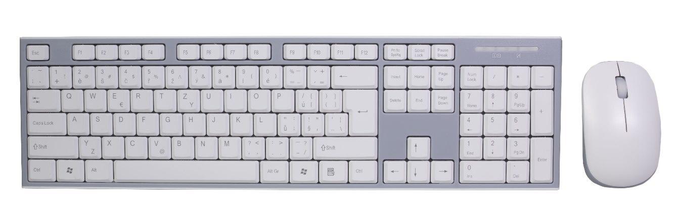 EVOLVEO WK-180, set bezdr. klávesnice a myši
