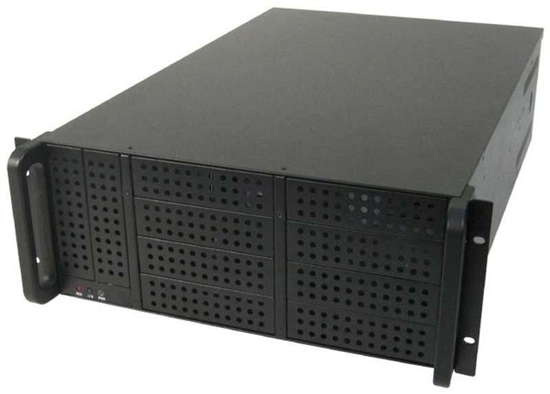 CHIEFTEC skříň Rackmount 4U ATX/EATX, UNC-410F-B, 400W, Black