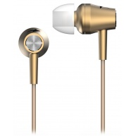GENIUS sluchátka s mikrofonem HS-M360, zlatá