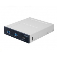 AKASA přední panel, 2x USB 3.1 Gen1, USB 3.1 Gen2 Type-C, interní
