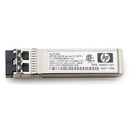 HP MSA 2040 16Gb Short Wave Fibre Channel SFP+ 4-Pack Transceiver (4x16Gb SW FC SFPs )