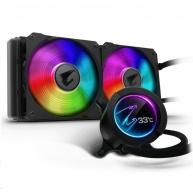GIGABYTE vodní chladič CPU AIO AORUS LIQUID COOLER 280, 2x140mm, RGB