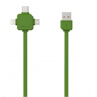 Allocacoc USBcable USB-C Green