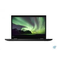 """LENOVO NTB ThinkPad L13 i Yoga - i3-10110U @2.1GHz,13.3"""" FHD IPS Touch,8GB,256SSD,HDMI,HDcam,Intel HD,W10P,1r car,černá"""