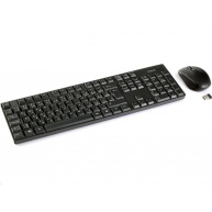 Hama set bezdrôtovej klávesnice s optickou bezdrôtovou myšou RF 2200