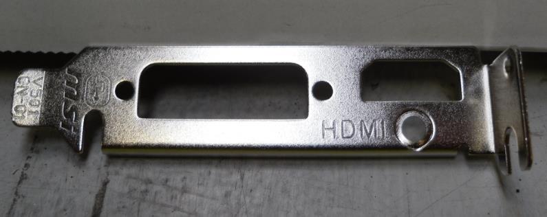 MSI ACC HDMI Low Profile bracket for MS-V161 (N210GT)