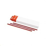 Peach Binding Combs 21 Rg A4 10mm, red