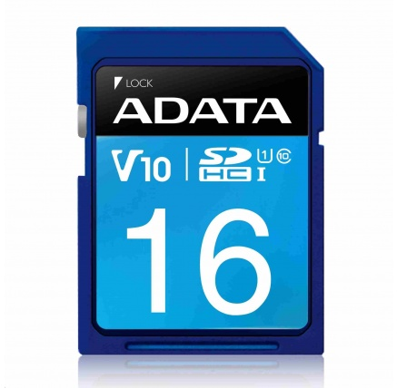 ADATA SDHC karta 16GB UHS-I Class 10, Premier