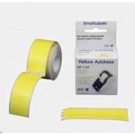 Seiko adresní štítky - žluté, 28x89mm 130ks/role
