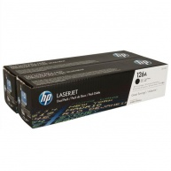 HP 126A Black 2-pack LJ Toner Cart, 2 x 1 200 str, CE310AD