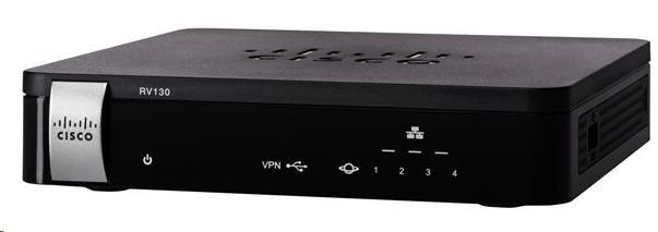 Cisco RV130 VPN firewall router, 4port, Gbit