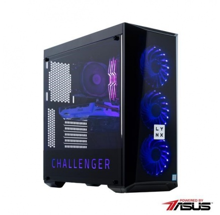 LYNX Challenger AURA i5 9400F 16GB 240G SSD 2T GTX1660Ti 6G W10 HOME