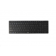 RAPOO klávesnice E9100M, bezdrátová, Ultra-slim, CZ/SK, černá