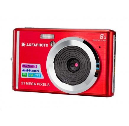 Agfa Compact DC 5200 - červený