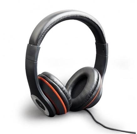 GEMBIRD sluchátka s mikrofonem Los Angeles, černá