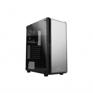 case Zalman miditower S4, ATX/mATX/Mini-ITX, bez zdroje, 2×ventilátor, 1×USB3.0, černá